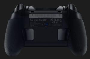 Razer Raiju背面の追加ボタン