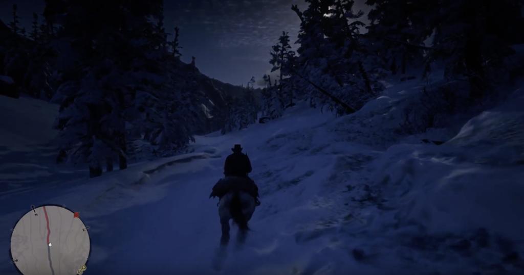 アーサーは雪山用のコスチュームが必要