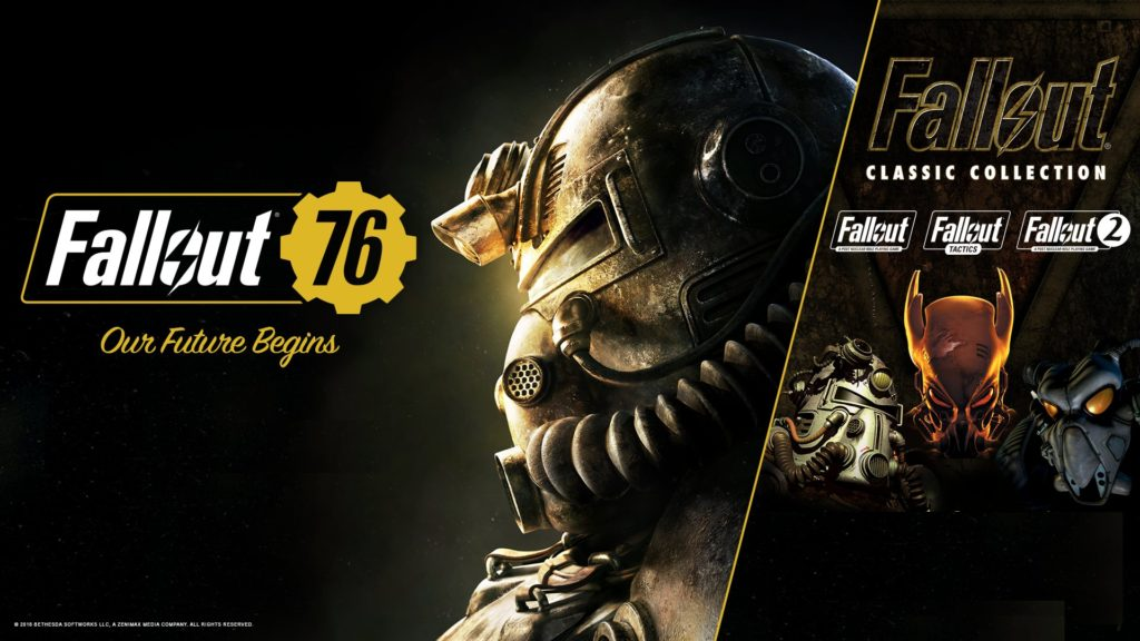 Fallout 76購入者向けFallout Classic Collectionキャンペーン
