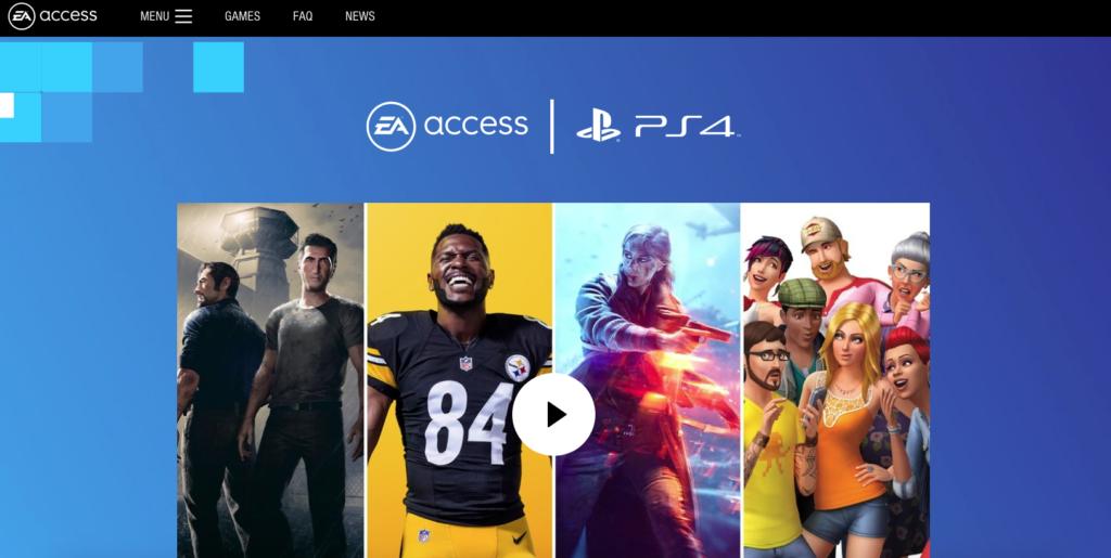 EAアクセス PS4向け