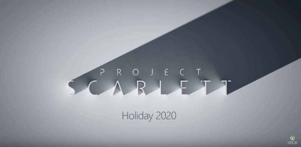 次世代xbox「project scarlett」のティザーイメージ
