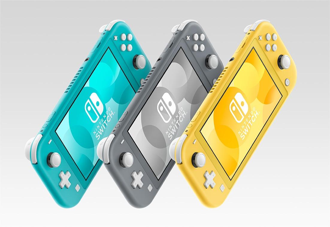 Nintendo Switch Liteの9月20日発売に向けて予約受付開始【ターコイズ、グレー、イエロー】