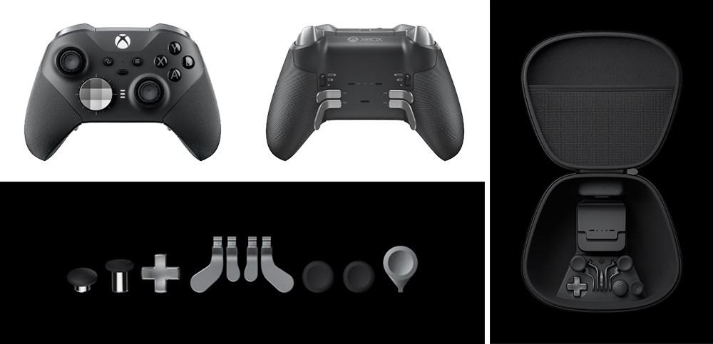 xbox elite ワイヤレスコントローラー シリーズ2の公式イメージ