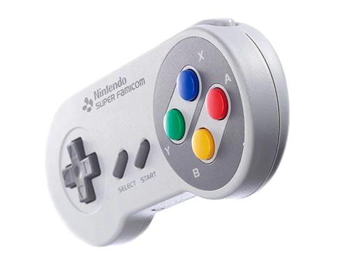 スーパーファミコン コントローラーのイメージ