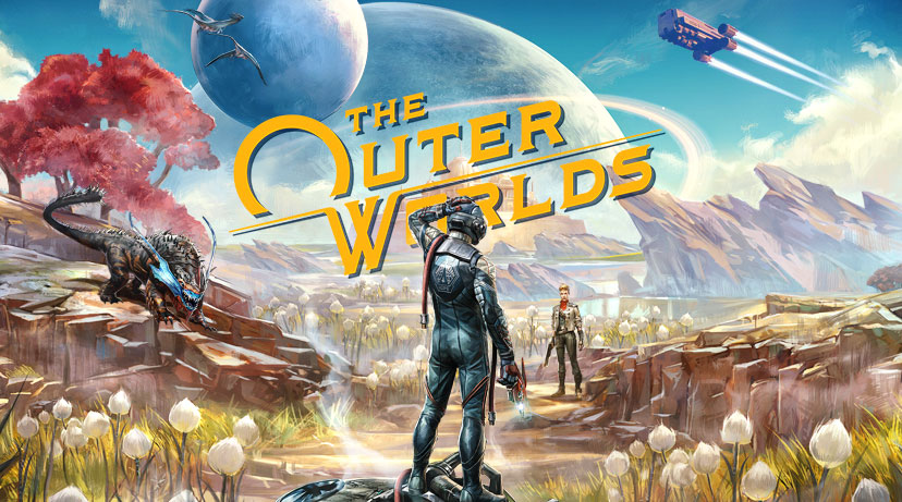 the outer worldsの公式イメージ