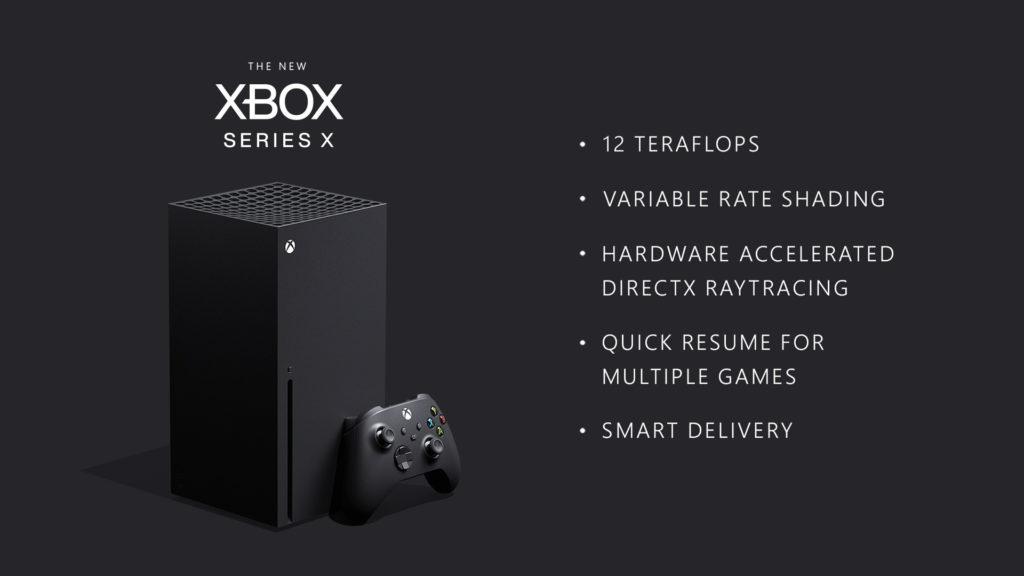 xbox series xのスペックについて
